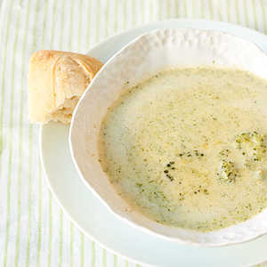 <p>Broccoli and Cheese Soup</p>