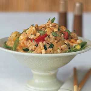 Fried Rice with Pineapple and TofuRecipe