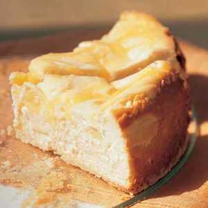 Lemon-Swirled CheesecakeRecipe