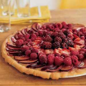 Fresh-Fruit Pizza with Lemon CurdRecipe