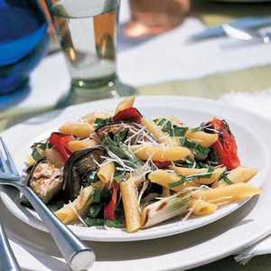 Grilled Italian Vegetables with PastaRecipe