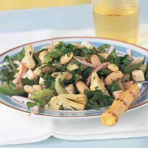 Italian White Bean-and-Artichoke SaladRecipe