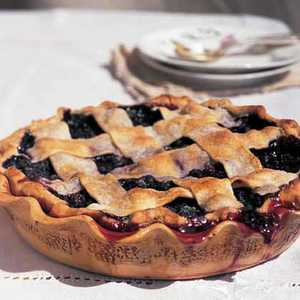 Lattice-Topped Blueberry PieRecipe