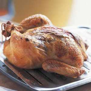 Sunday Roasted Chicken with Giblet GravyRecipe