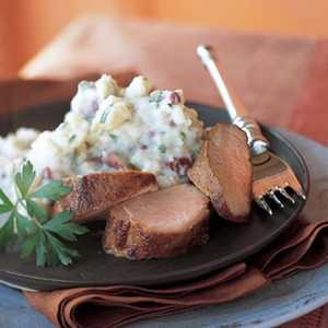 Mashed Potatoes with Blue Cheese and ParsleyRecipe