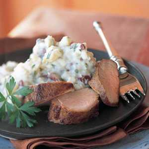 Sweet-and-Tangy Roasted Pork TenderloinRecipe