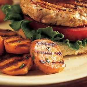 Spicy Grilled Sweet PotatoesRecipe