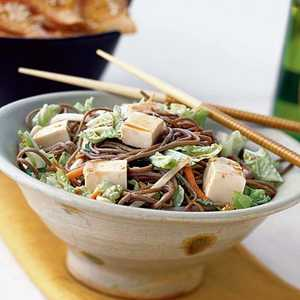 Soba Noodle Salad with Vegetables and TofuRecipe