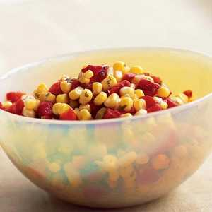 Roasted Red Pepper-and-Corn SalsaRecipe
