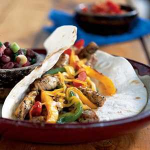 Spicy Pork-and-Bell Pepper TacosRecipe