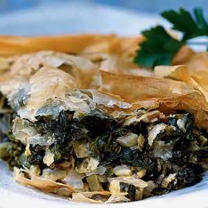 Greens-and-Cheese Pie (Hortopita)Recipe