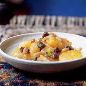 Khoshaf bil Mishmish (Macerated Apricots and Nuts)Recipe