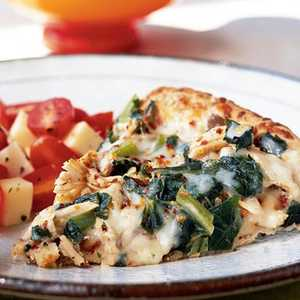 Turkey Alfredo PizzaRecipe