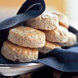 Herb and Onion Wheat BiscuitsRecipe
