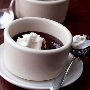 Outrageous Warm Double-Chocolate PuddingRecipe