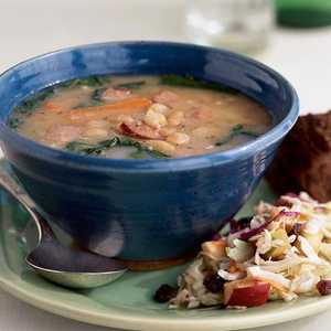 <p>North Woods Bean Soup</p>