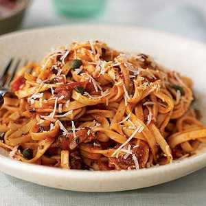 Linguine with Pancetta and ParmesanRecipe