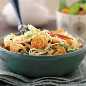 Curried Noodles with TofuRecipe