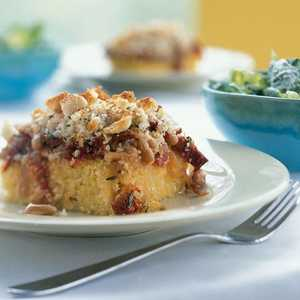 Grits Casserole with White Beans and Rosemary Recipe