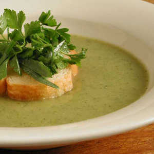 Creamy Zucchini Soup with Mixed Herbs Recipe