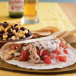 Snapper Tacos with Chipotle CreamRecipe