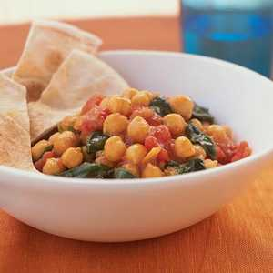 Chickpea and Spinach CurryRecipe