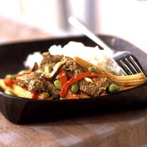 Sesame Beef and Asian Vegetable Stir-Fry Recipe