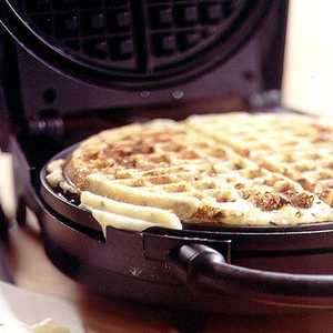 Sour Cream, Cheddar, and Chive Potato WafflesRecipe