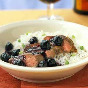 Duck Breast with Double-Cherry SauceRecipe