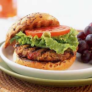 Turkey and Oat BurgersRecipe