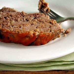 Slow-Cooker Meat Loaf with Shiitake Mushrooms Recipe