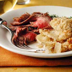 Spiced Beef with Onion and Allspice GratinRecipe