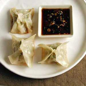 Chicken and Lemon Pot Stickers with Soy-Scallion Dipping SauceRecipe