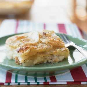 Potato-Gorgonzola GratinRecipe