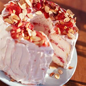 Strawberry Angel Cake Recipe