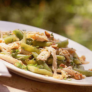 Chicken Salad with Green Beans and Toasted WalnutsRecipe