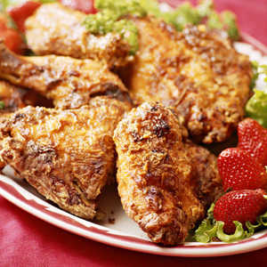 Leah Chase's Oven-Fried Chicken Recipe