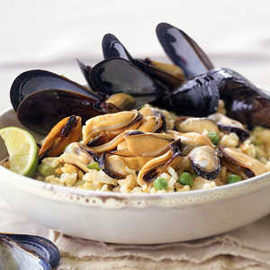 Curried Mussel PilafRecipe