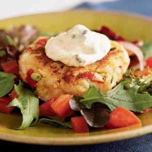 <p>Crab Cakes with Remoulade</p>