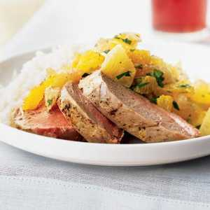 Pork Tenderloin with Xec (Mayan Citrus Salsa)Recipe