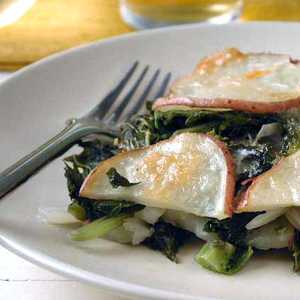 Winter Greens and Potato CasseroleRecipe