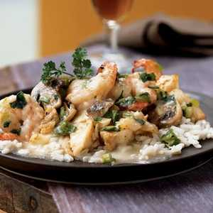 Cajun Shrimp and CatfishRecipe
