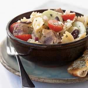 <p>Greek Pasta Salad</p>