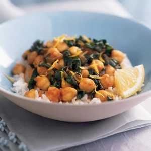 Chickpeas with SpinachRecipe