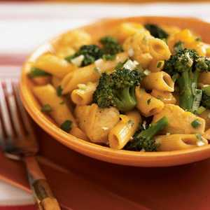 Curried Chicken Penne with Fresh Mango Chutney Recipe