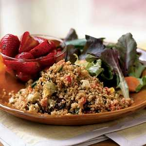 Bell Pepper and Fresh Mozzarella Couscous Recipe