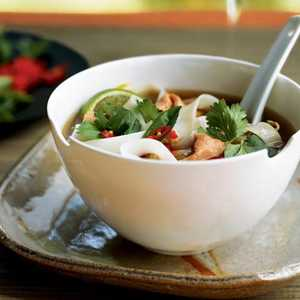 Hanoi Beef and Rice Noodle Soup (Pho Bo)Recipe