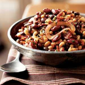 Mixed Bean Salad with Sun-Dried TomatoesRecipe