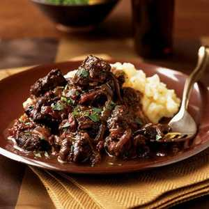 Braised Beef with Sun-Dried TomatoesRecipe