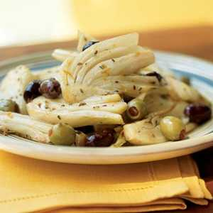 Warm Olives with Fennel and OrangeRecipe